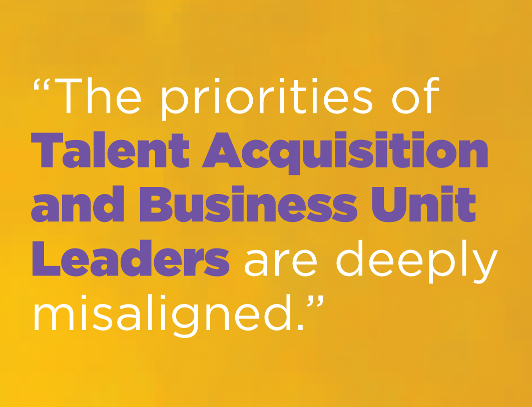 Priorities of Talent Acquisition and Business Unit Leaders