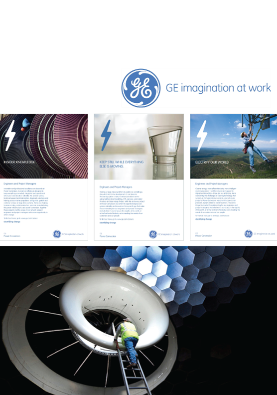 GE Power Conversion Attraction Campaign
