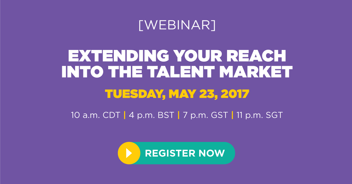 Extending Your Reach Into the Talent Market Webinar