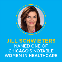 Cielo Healthcare's Jill Schwieters named to Crain's Custom Media List of Chicago's Notable Women in Healthcare
