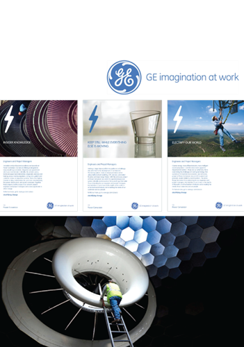GE Power's global and local campaign