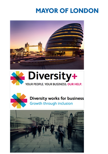 Mayor of London diversity campaign assets