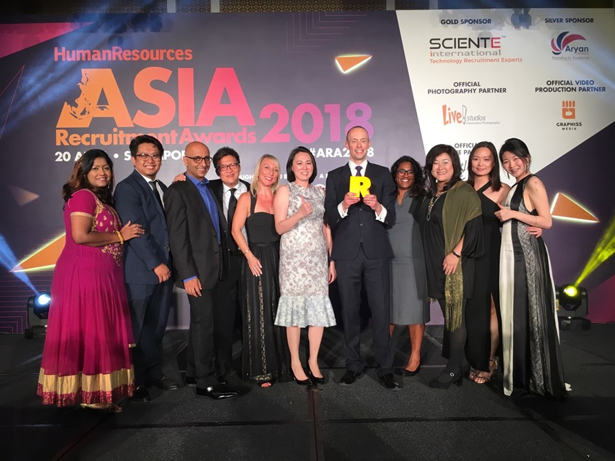 Cielo wins Best RPO Provider at the 2018 Asia Recruitment Awards