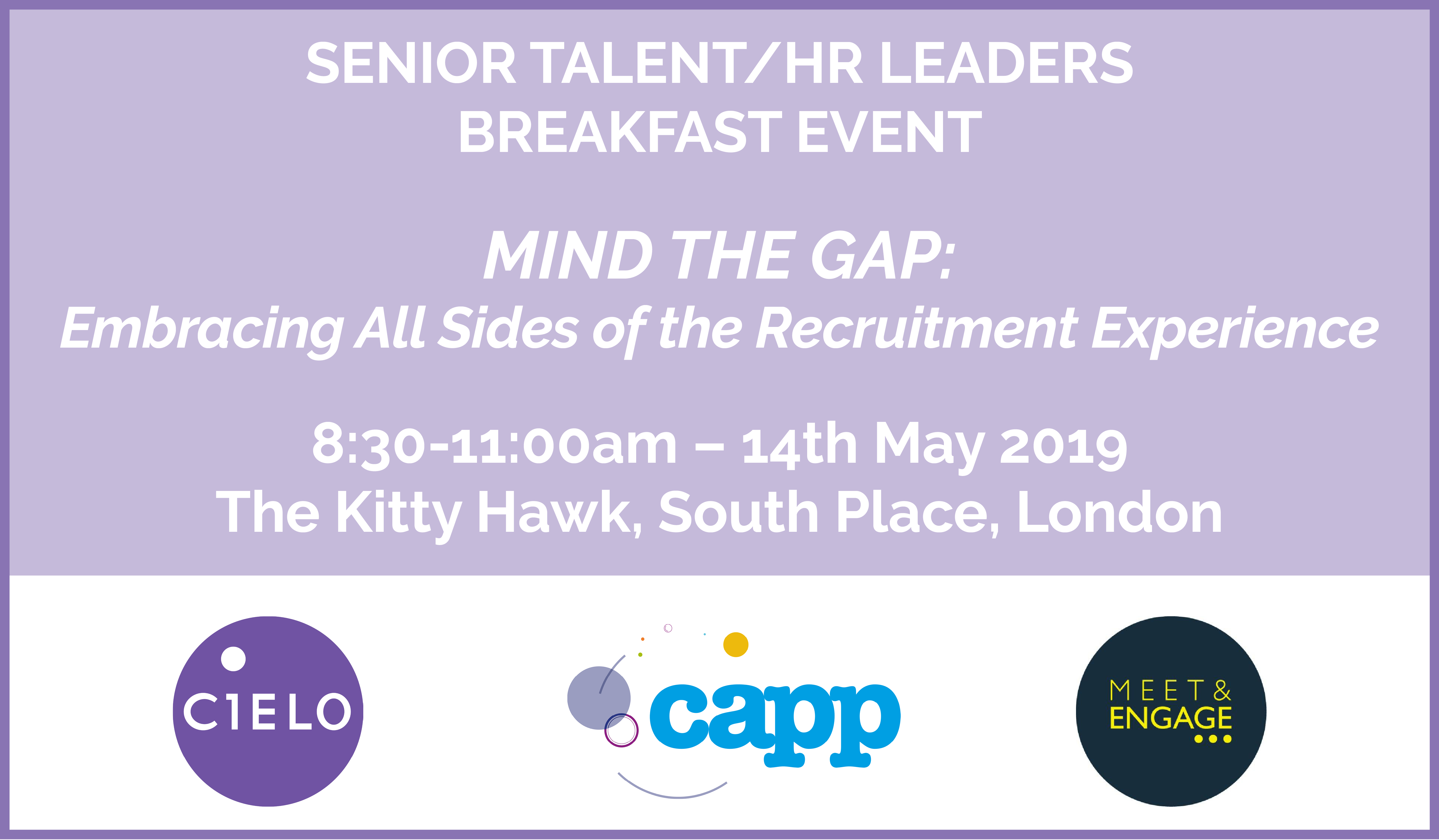 Mind the Gap - Embracing Both Sides of the Recruitment Experience