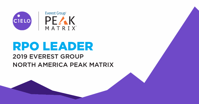 Cielo Recognized as an RPO Leader in Everest PEAK Matrix North America Report