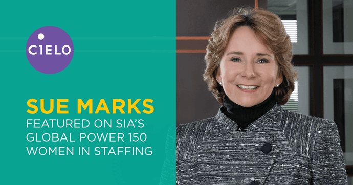 Cielo's Sue Marks Named to SIA Global Power 150 – Women in Staffing