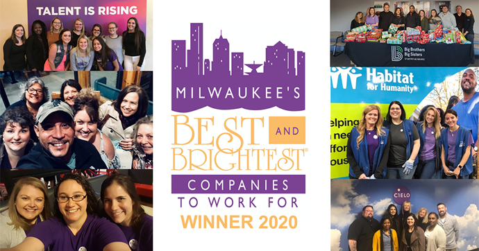 Cielo Named to Milwaukee's Best and Brightest Companies to Work For