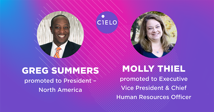 Cielo Promotes Greg Summers and Molly Thiel to Global Executive Team