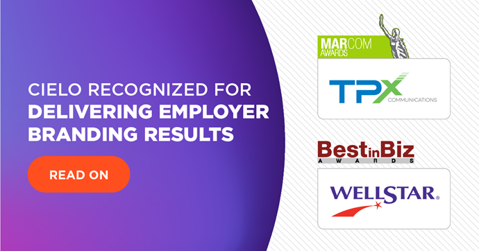 Cielo Recognized for Delivering Employer Branding Results