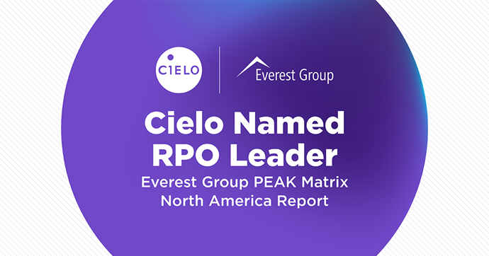 Cielo Earns RPO Leader Recognition in Everest Group PEAK Matrix North America Report
