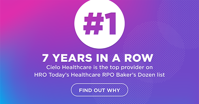 Cielo Healthcare Earns 7th Consecutive Recognition as Best RPO Provider in Baker's Dozen