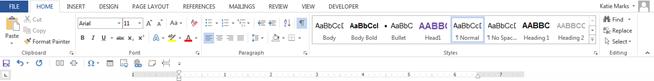 Microsoft Quick Access Toolbar